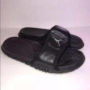 d86192188a631 Jordan Shoes - Nike Jordan Hydro 2 Black Slide Sandals - womens 8